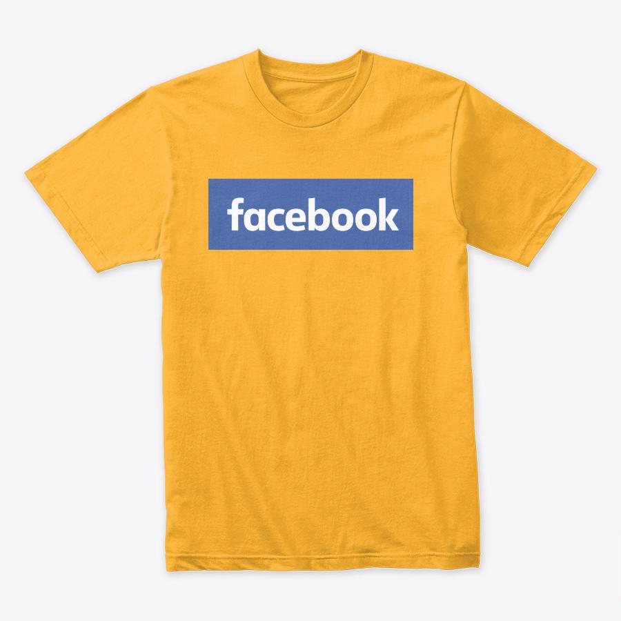 Facebook Design Printed T-Shirt
