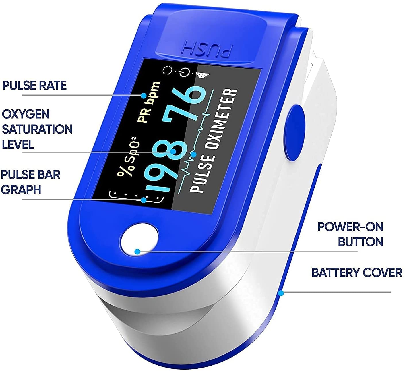 PULSE OXIMETER -  Express Home Delivery