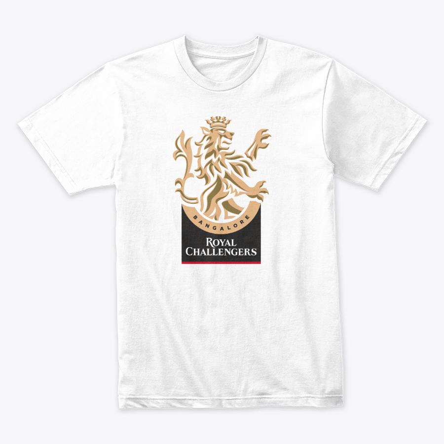 Printed Round Neck - RCB T-Shirt
