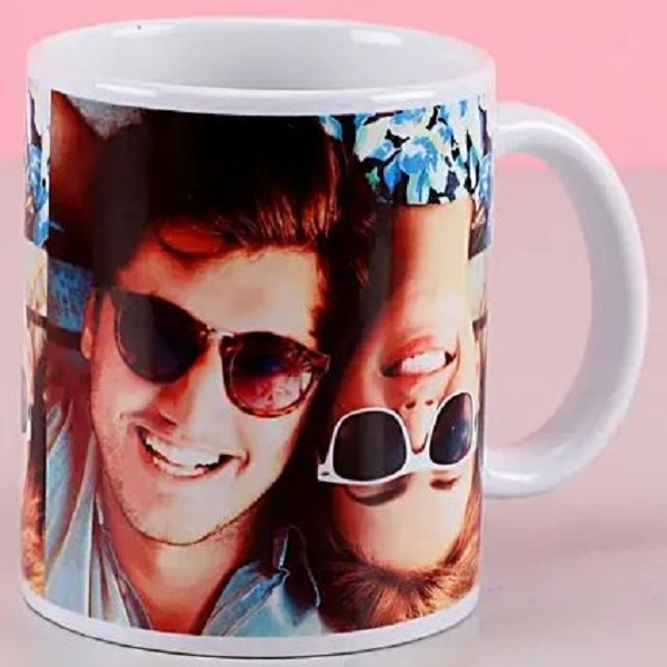 Personalized White Mug for Relationship